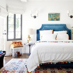 Pretty Pom Poms - 25 Bedrooms That Are Giving Us Summer Vibes - Photos