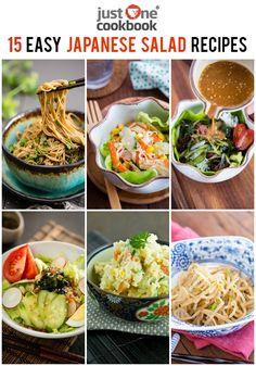 15 Easy Japanese Salad Recipes at JustOneCookbook.com @justonecookbook