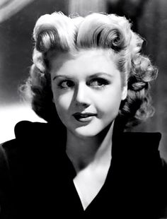 Angela Lansbury, 1940's...she was beautiful and i think such a classy lady.  I love Murder She Wrote!