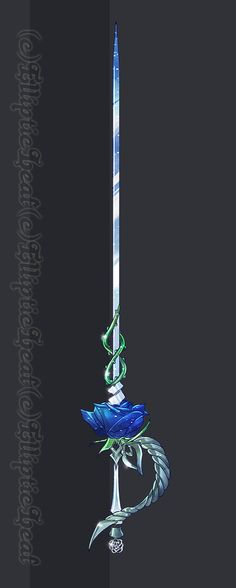 Rose - Rapier NOT FOR SELL! Belongs to -  Crim-Syn -