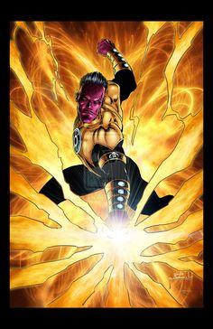 Sinestro by Jason Metcalf and Todd Rayner by JasonMetcalf.deviantart.com on @deviantART