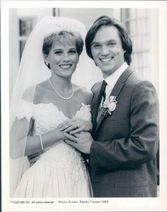 1995 Actor Richard Thomas Kate McNeil TVs A Walton Wedding Wire Photo