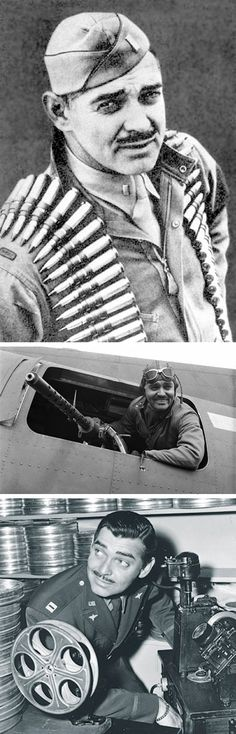 27 Jan 43: 2nd Lieutenant Clark Gable begins training with the 351st Bomb Group as head of a motion picture unit with the assignment of making a film in combat to recruit aerial gunners. More: http://scanningwwii.com/a?d=0127&s=b430127 #WWII