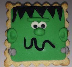 Galletas Halloween-Frankenstein - cookie