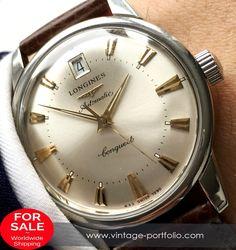 Genuine Longines Conquest Heritage Automatic Automatik with Box and Papers #longines #longineswatches #luxurywatch