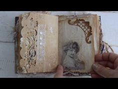 Junk journal. Private swap with Fiona Knobben. - YouTube