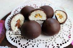 Çikolata Kaplı Hindistan Cevizi Topları Tarifi