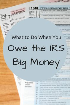 how to pay taxes you owe