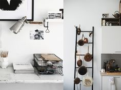 Industrial interior, copper inspiration, copper accessories, House Doctor, kitchen styling, industrial office