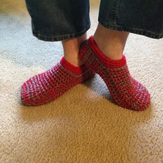 Ravelry: Ahh Spa Mens Slippers pattern by Kris Basta - Kriskrafter, LLC