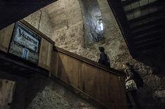 Sarteano Castle Interior - photograph by I. M. Ganescu