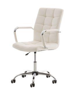 Bürostuhl Deli-weiß Farbe:weiß Material:Metall