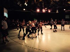 This was fun to film! Norfolk Brawds Roller Derby at Epic Studios.