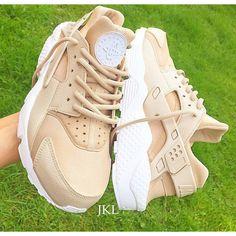 Khaki Nude Nike Air Huarache Army Huarache Khaki Huarache Nike ❤ liked  on Polyvore featuring shoes, silver, sneakers \u0026 athletic shoes, tie sneakers,