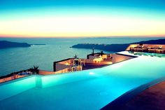 Grace Santorini Hotel is located in Imerovigli, Santorini, 300 meters above the caldera. Grace Santorini is a luxury boutique hotel with stylish rooms & suites. Imerovigli Santorini, Mykonos, Santorini Hotels, Santorini Island, Santorini Vacation, Oia Greece Hotels, Santorini Italy, Santorini Holidays, Vacation Places