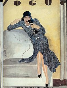 Vogue  - London Season Cover - 1926