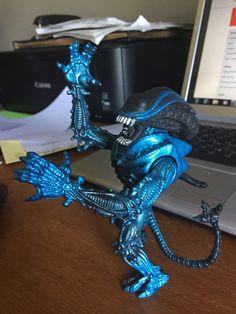 Aliens vs predator kenner snake alien complete kaybee toys for Tattoo shops in kenner