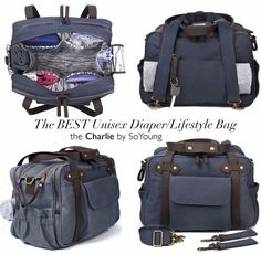 The Best Diaper/Lifestyle Bag Ever + Giveaway | Chris Loves Julia