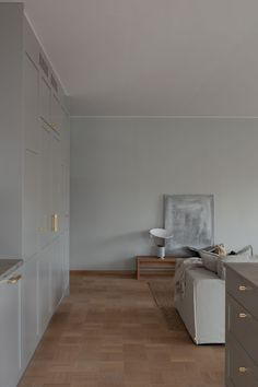 Beautiful Nordic apartment Inspired by Nature and Warm Tones New Builds, House Tours, Divider, France, Warm, Inspired, Building, Nature, Inspiration
