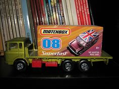 Matchbox toy trucks