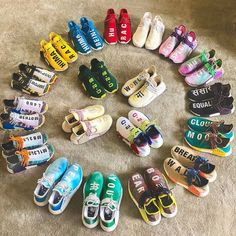 For sale Human Race Adidas HU Shock Pink shoes Human Race Shoes, Adidas Human Race, Human Race Nmd, Sneakers Mode, Sneakers Fashion, Shoes Sneakers, Fashion Shoes, Parisian Fashion, Bohemian Fashion