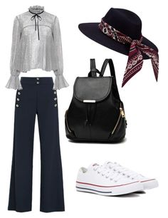 """Mila's casual wear"" by pantsulord on Polyvore featuring Chloé, Saloni and Converse"