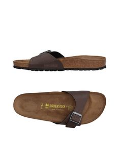 You like these  BIRKENSTOCK Sandals - http://www.fashionshop.net.au/shop/yoox/birkenstock-sandals-9/ #11197240, #Birkenstock, #Buckle, #ContainsNonTextilePartsOfAnimalOrigin, #FauxLeather, #Flat, #Footwear, #Item, #LeatherLining, #Logo, #RoundToeline, #RubberSole, #Sandals, #SolidColor, #Yoox #fashion #fashionshop