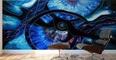 The ocean of my memory - Ildikó Csegöldi Décsei - Canvas Artwork My Memory, Canvas Prints, Ocean, Memories, Abstract, Painting, Memoirs, Summary, Souvenirs