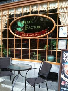 Mate Factor Yerba Mate Cafe, Ithaca, NY: One of my favorite cafes in Ithaca- lots of vegan options including sandwhiches and pastries.  7/10
