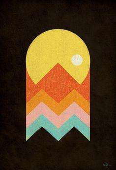 Pac Man poster
