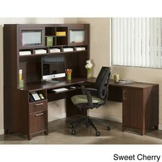 furnitureawesome furniture achieve collection l desk and armles black work chairs with drawer desk awesome desk furniture bush