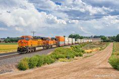 https://flic.kr/p/LgZxCY | Brand New Intermodal Service | Yesterday, BNSF…