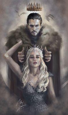 Game of Thrones fan art, Daenerys Targaryen, Jon Snow, Jonerys Dessin Game Of Thrones, Game Of Thrones Drawings, Arte Game Of Thrones, Game Of Thrones Artwork, Game Of Thrones Funny, Jon Snow And Daenerys, Game Of Throne Daenerys, Game Of Trone, John Snow