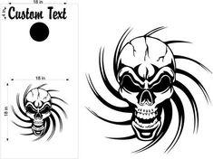 Skull Skulls Cornhole Board Decals Flag Stickers Graphics Wrap Bag Toss Bean Baggo SK05