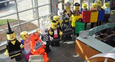 LEGO Costume Group at work