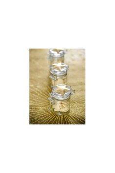 Petit Bocal en verre avec bouchon conserve pour décoration de table - Dragées anniversaire baptême mariage - candy bar