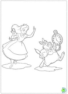 Alice in Wonderland-ColoringPages-21 « Printable Coloring Pages