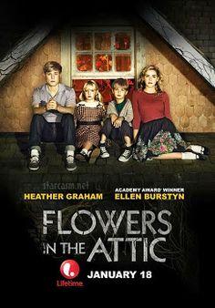 Flowers in the Attic (2014) - Luego de la inesperada muerte de su padre, los niños Dollanganger son convencidos por su madre Corrine de que vivan en el ático de la mansión de sus abuelos #drama #misterio #poster