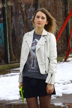 http://neonowastrzala.blogspot.sk #Pimkie #Blouson #Sweat #Pochette