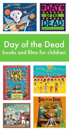 Day of the Dead books and films list for children about dia de los muertos Preschool Books, Classroom Activities, Activities For Kids, Happy Mom, Happy Kids, Lessons For Kids, Art Lessons, Films For Children, Children Books