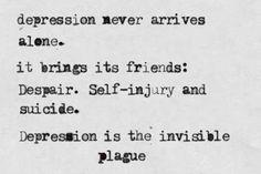 Depression Hurts (Depressing Quotes) 0082 5