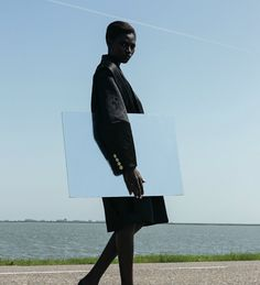 Kinee Diouf photographed by Viviane Sassen for AnOther (Fall/Winter 2013).