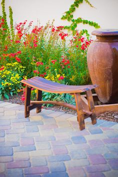 Wine Barrel Bench by ByGordonLiving on Etsy, $199.00
