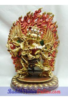 """12"""" Hayagriva Protector Deity Sculpture"""