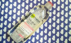 Mary Bloomy: Second Thoughts | Garnier Micellar Cleansing Water |