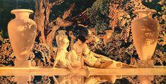 Garden of Allah - Maxfield Parrish