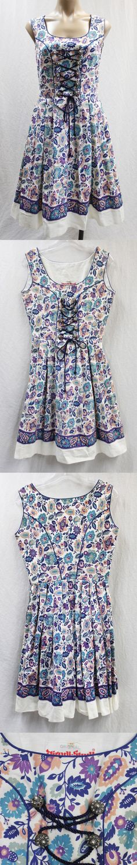 Dirndls 163143: Vtg Authentic Dirndl-Stadl Trachten German Bavarian Oktoberfest Dress Sz 40 -> BUY IT NOW ONLY: $99.99 on eBay!
