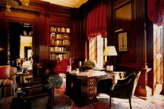 an american country house by Thierry W. Despont