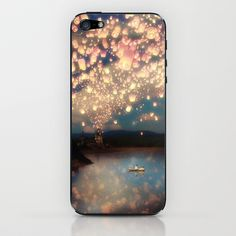 Love Wish Lanterns iPhone & iPod Skin by Paula Belle Flores - $15.00