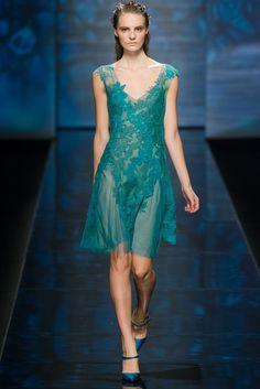 Alberta Ferretti Spring 2013 Ready-to-Wear Fashion Show - Tilda Lindstam